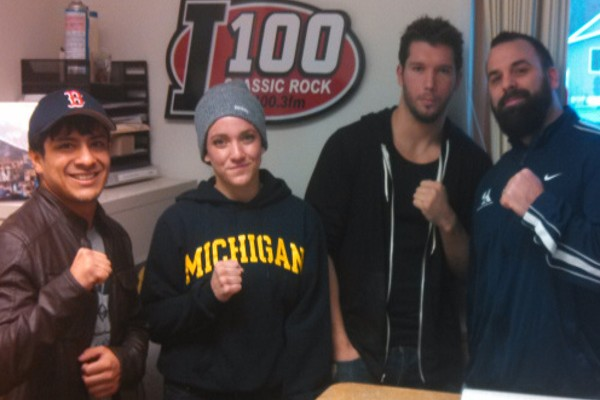 Meet some of the fighters and listen to the in-studio interview!