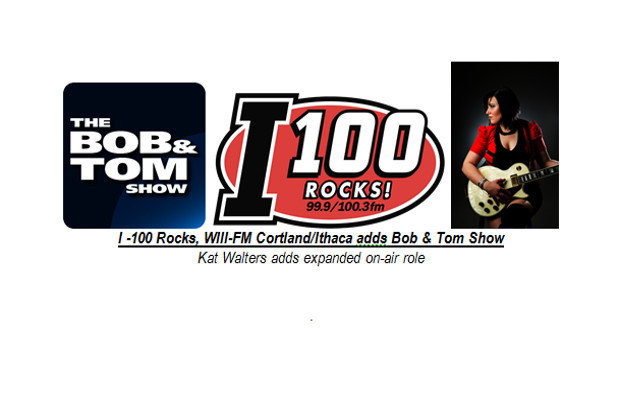 I 100 Rocks Adds Bob Tom Show Kat Walters Promoted To Station